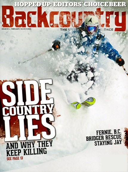 Backcountry Cover - 2/1/2013