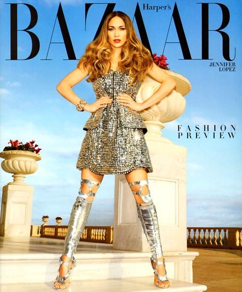 Harper's Bazaar Cover - 2/1/2013
