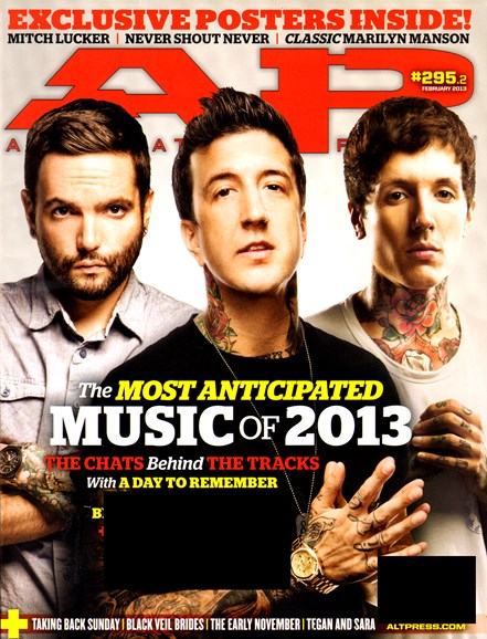 Alternative Press Cover - 2/1/2013