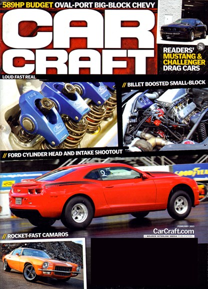 Car Craft Cover - 2/1/2013