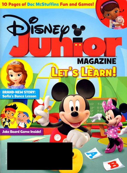 Disney Junior Cover - 2/1/2013