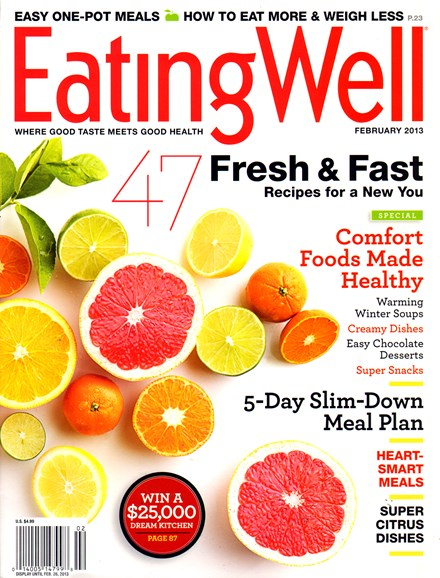 EatingWell Cover - 2/1/2013
