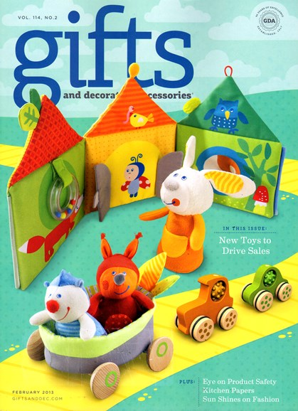 Gifts And Decorative Accessories Cover - 2/1/2013