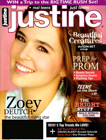 Justine Cover - 2/1/2013