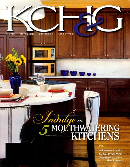 Kansas City Homes & Gardens Cover - 2/1/2013