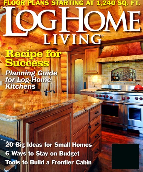 Log Home Living Cover - 2/1/2013