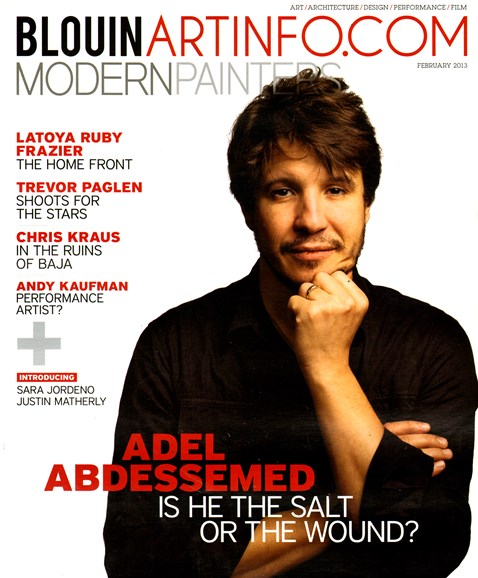 Blouin Modern Painters Cover - 2/1/2013