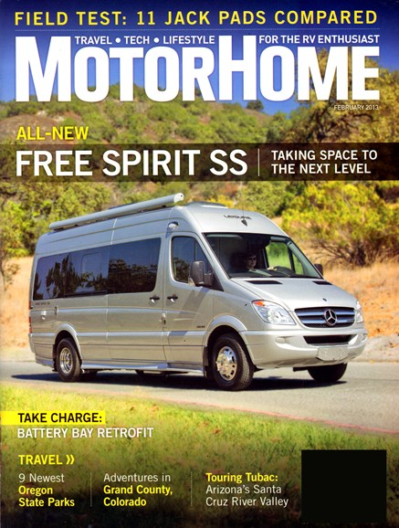MotorHome Cover - 2/1/2013