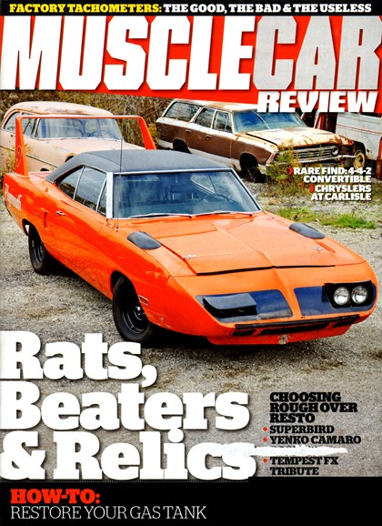 Muscle Car Review Cover - 2/1/2013