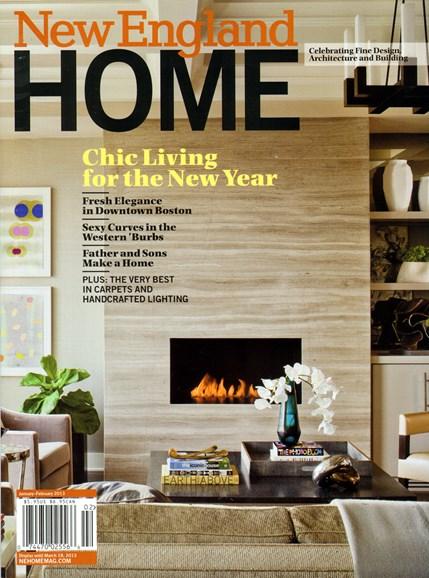 New England Home Cover - 2/1/2013