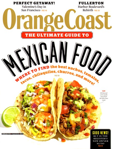 Orange Coast Cover - 2/1/2013