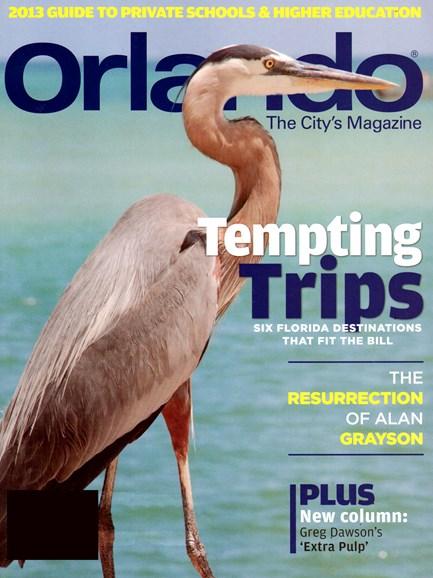 Orlando Magazine Cover - 2/1/2013