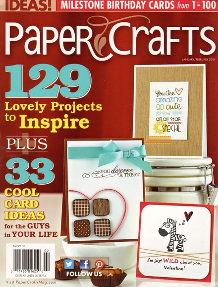 Paper Crafts Cover - 2/1/2013