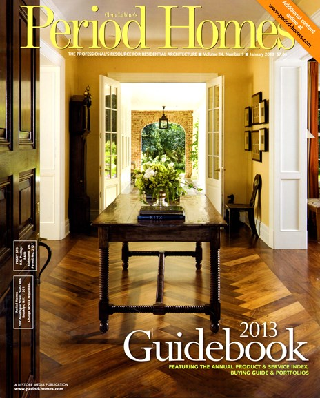 Period Homes Cover - 2/1/2013