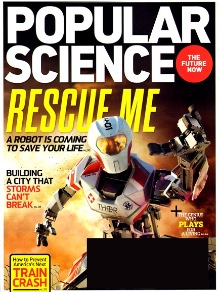 Popular Science Cover - 2/1/2013