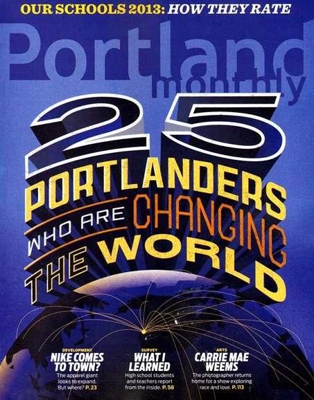 Portland Monthly Cover - 2/1/2013