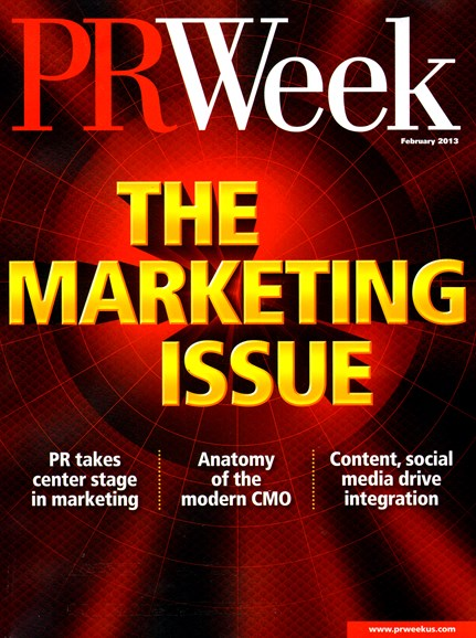 PRWeek Cover - 2/1/2013
