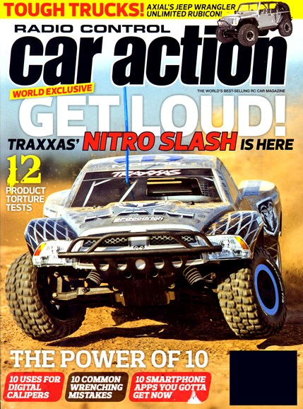Radio Control Car Action Cover - 2/1/2013