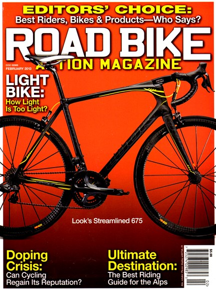 Road Bike Action Cover - 2/1/2013