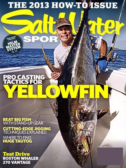 Salt Water Sportsman Cover - 2/1/2013