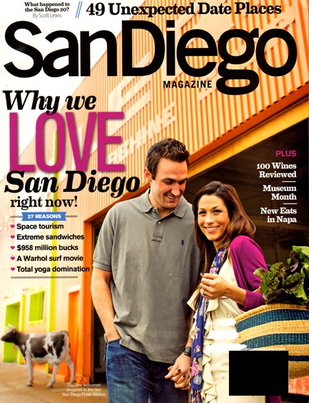 San Diego Cover - 2/1/2013