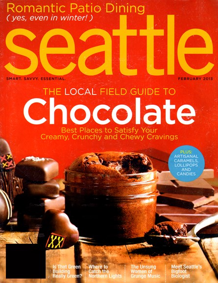 Seattle Magazine Cover - 2/1/2013