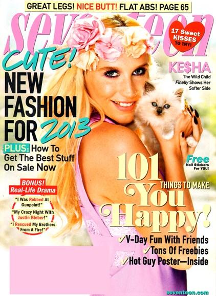 Seventeen Cover - 2/1/2013