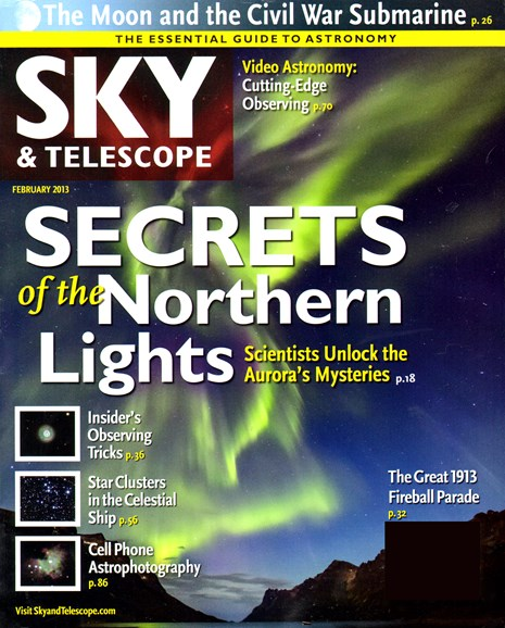 Sky & Telescope Cover - 2/1/2013