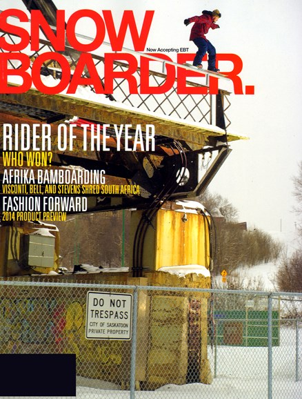 Snowboarder Cover - 2/1/2013