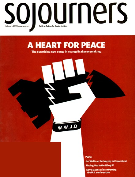 Sojourners Cover - 2/1/2013