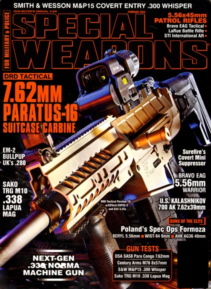 Special Weapons for Military & Police Cover - 2/1/2013