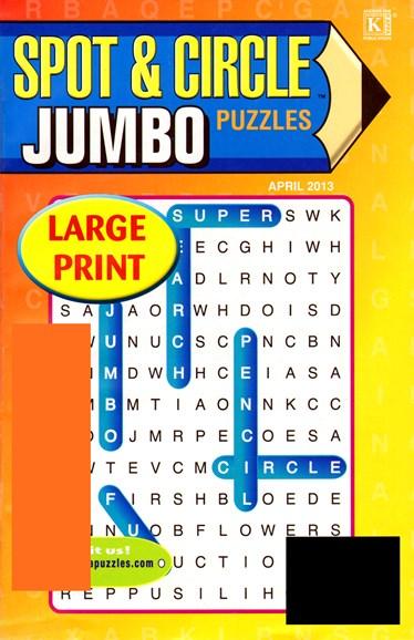 Spot & Circle Jumbo Cover - 2/1/2013