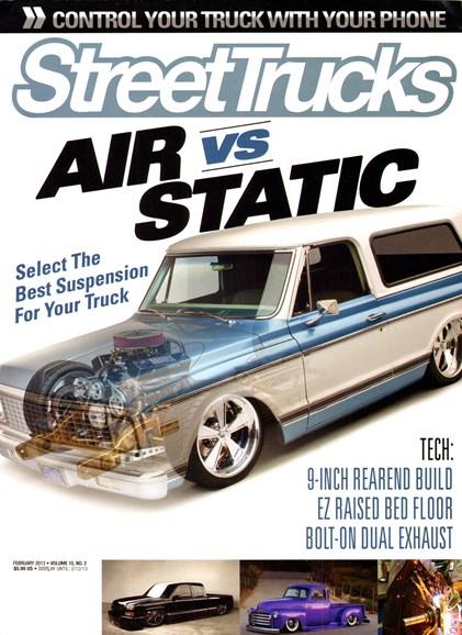 Street Trucks Cover - 2/1/2013