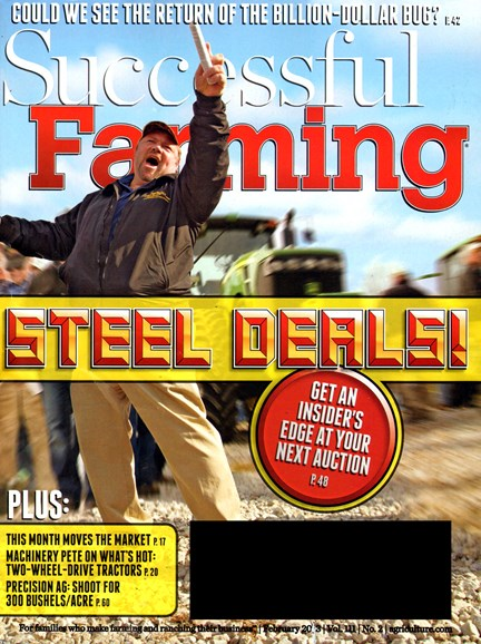 Successful Farming Cover - 2/1/2013