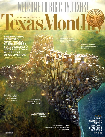 Texas Monthly Cover - 2/1/2013