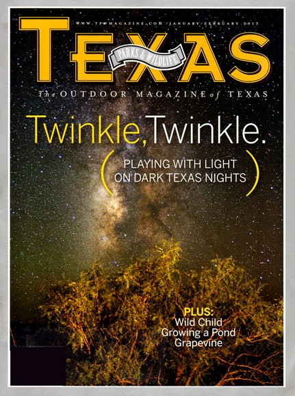 Texas Parks & Wildlife Cover - 2/1/2013