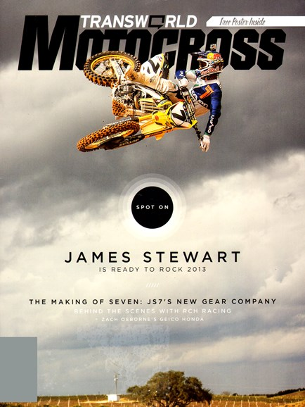 Transworld Motocross Cover - 2/1/2013