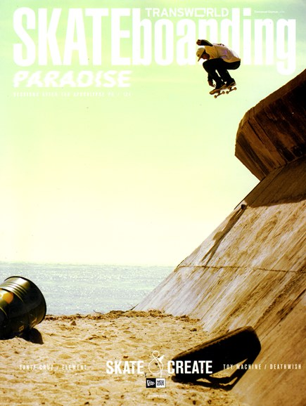 Transworld SKATEboarding Cover - 2/1/2013