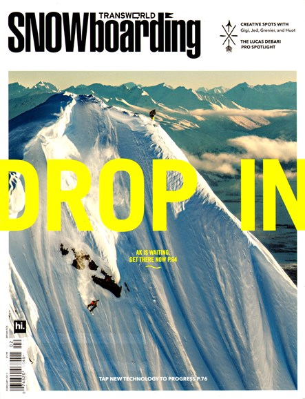 Transworld SNOWboarding Cover - 2/1/2013