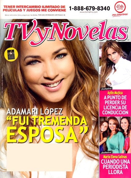 Tv Y Novelas Cover - 2/1/2013