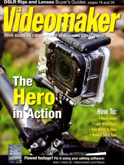 Videomaker Cover - 2/1/2013