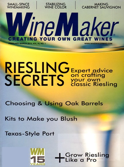 Winemaker Cover - 2/1/2013