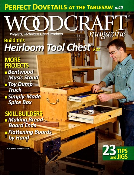 Woodcraft Cover - 2/1/2013