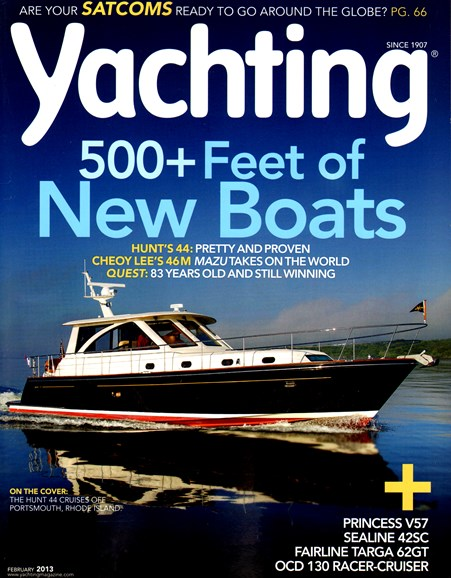 Yachting Cover - 2/1/2013