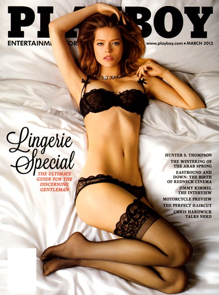 Playboy Cover - 3/1/2013