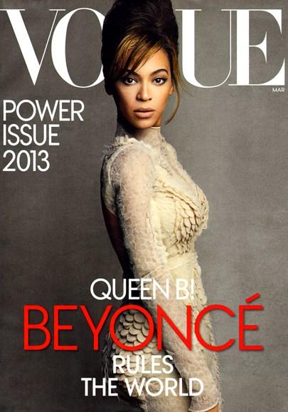 Vogue Cover - 3/1/2013