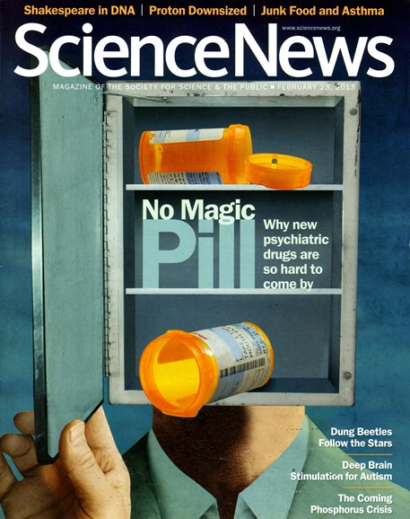 Science News Cover - 2/23/2013