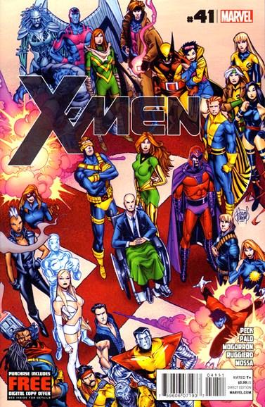X-Men Gold Cover - 4/1/2013