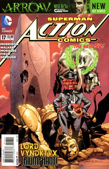Action Comics Cover - 4/1/2013