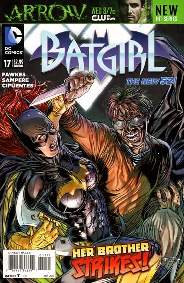 Batgirl Cover - 4/1/2013
